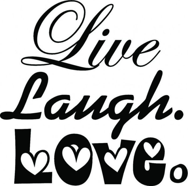 Download 20 best live love laugh images on Pinterest   Laugh quotes ...
