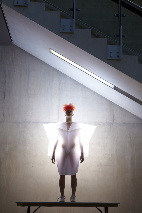 white shoot for CSM - preview by Madame Peripetie, via Behance