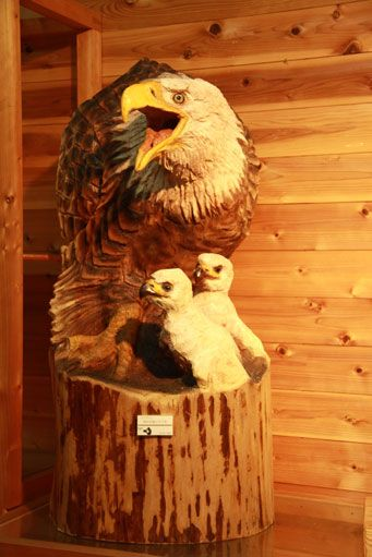チェンソーアート・ジャパン チェーンソーによる木の彫刻作品 | 和歌山県田辺市龍神村 - Part 2