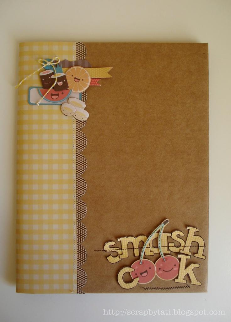 A smash book style cook book / scrap on the blog: kawaii