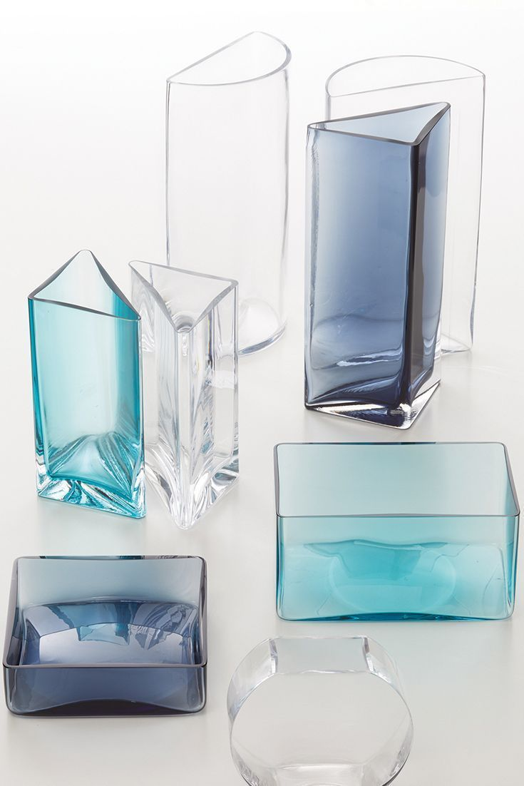 Vase Glas silber mit bunten Perlen  Vintage Deko Blumenvase  Pokal Kare Design