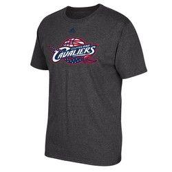 Cleveland Cavaliers adidas Stars & Stripes T-Shirt - Mens