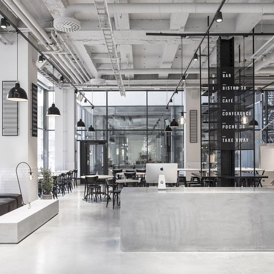 """""""Major deductions made at former Stockholm tax office as French restaurant Usine takes over... """""""