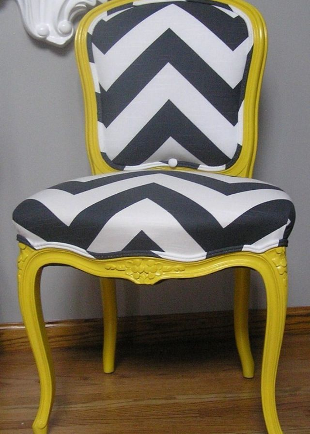 64 best mixing upholstery fabric images on pinterest for Funky fabric dining chairs
