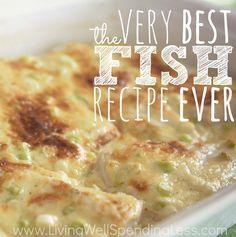 The Very Best Fish Recept Ever   Gemakkelijke geroosterde vis Recept
