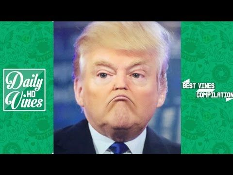 Top Donald Trump Vines Compilation 2016 Try Not To Laugh Or Grin Try Not To  Laugh. Funniest ...
