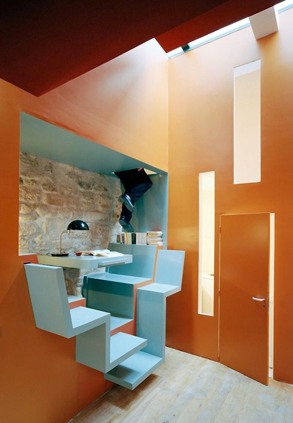 Living In Small Spaces Ideas From Paris House By Christian