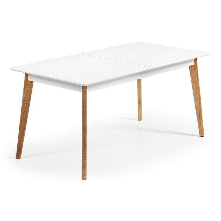 Esstisch wei holz ausziehbar for Tisch ausziehbar holz