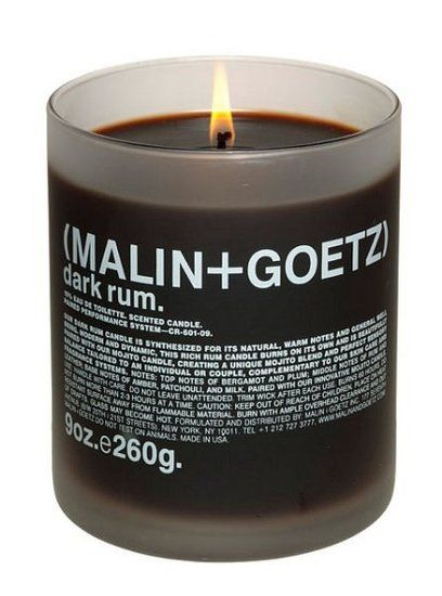 Malin + Goetz has a bestselling scent of Dark Rum with notes of plum and leather, something different but definitely recommended –– Style Guide: Candles