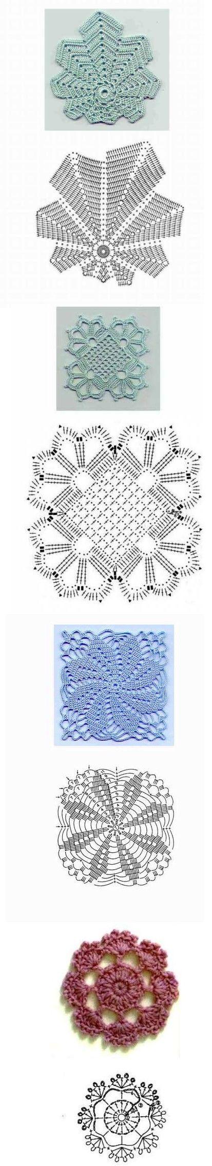 Favorite crochet motifs!