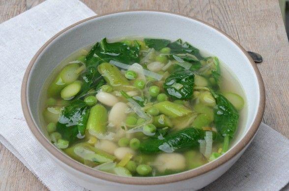 ... Spring Minestrone, Spring Vegetable, Green Minestrone, Spring Veggies