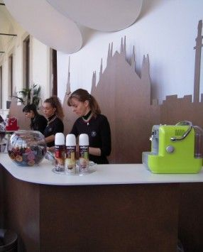 Lavazza temporary Caffè. Milano Design Week. Università Statale. #Interni