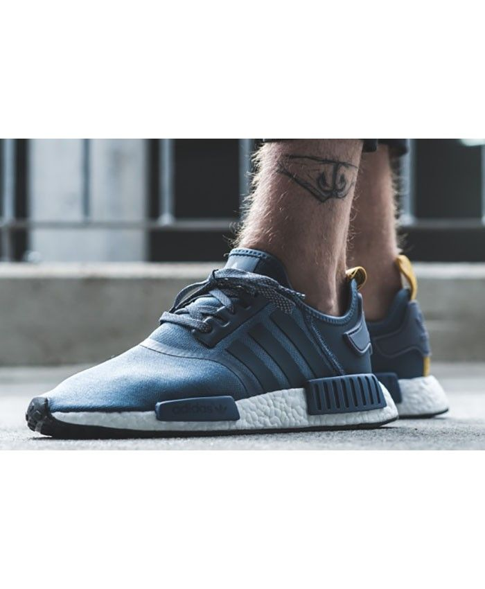 7240ebb8b025 Adidas Nmd R1 Light Blue Trainers