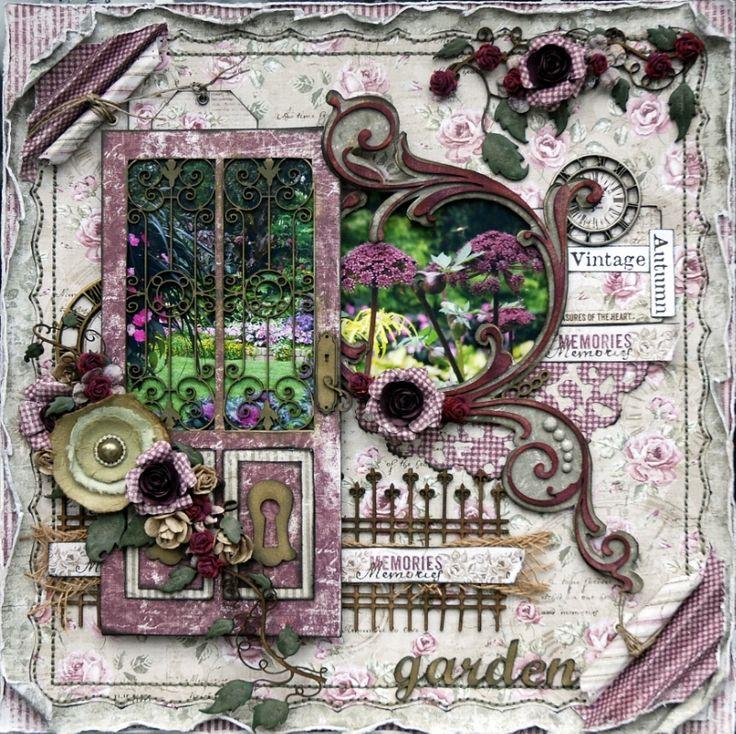 Autumn Garden - Scrapbook.com