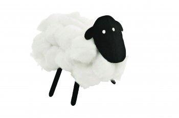 Cotton Wool Sheep Craft Acitivity