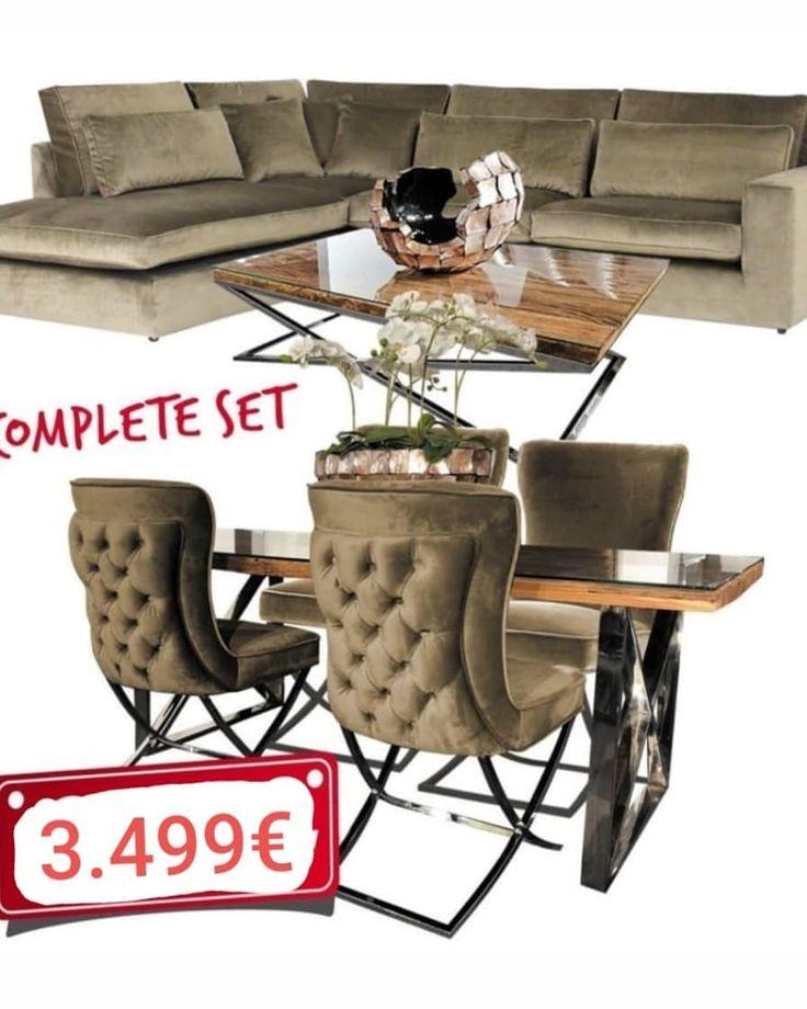Designer Couch Sofa Sitzgarnitur Wohnzimmer Wohnzimmerideen Inneneinrichtung Luxus Mobel Chesterfield Gold Munchen S Coffee Table Decor Home Decor