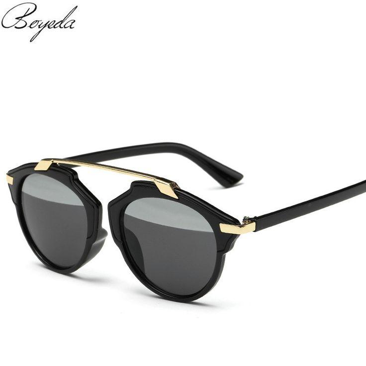 Fashion Retro Women Sunglasses Luxury Brand Sun Glasses Classic Flat Female Sunglasses for Men Mirror Goggles Spectacles UV400