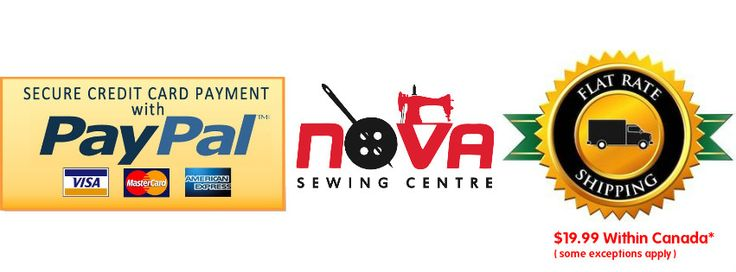 Nova Sewing Online Deals - Here you will find the BEST Prices in Canada on JANOME, BROTHER & SINGER products. novasewing.com your #1 sewing dealer in Canada