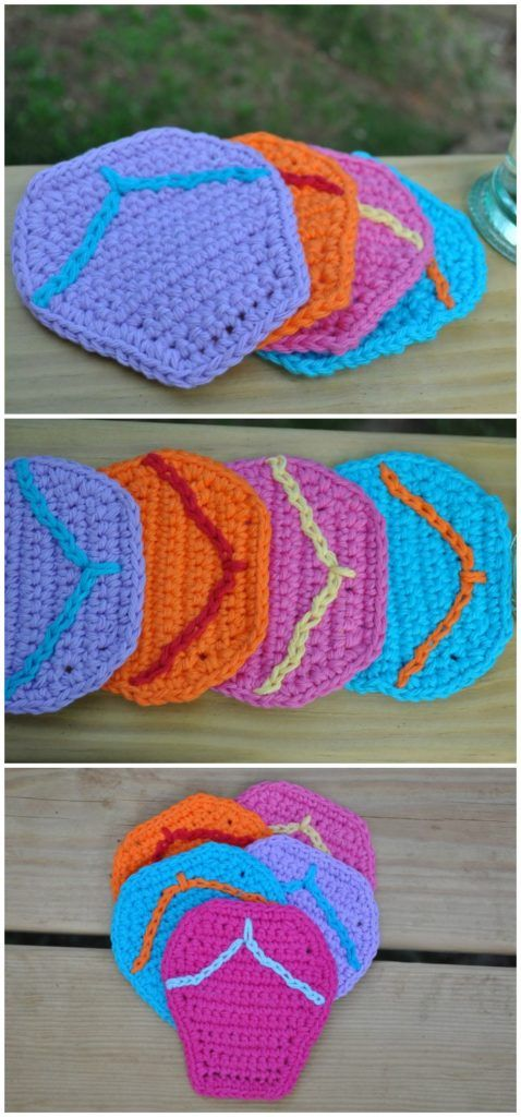Free Crochet Coaster Patterns For Your Home Coasters Pinterest