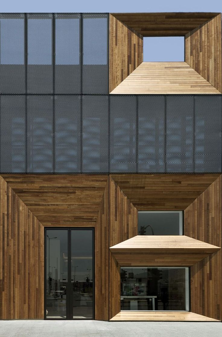 Wood combined with glass....aesthetically very pleasing to both the eye & senses.
