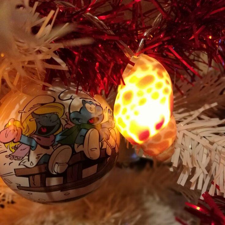 Seashells  Christmas light decoration. Luci per l'albero di Natale  Home made Luci natalizie in stile nautico