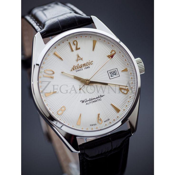 ZEGAREK MĘSKI ATLANTIC WORLDMASTER AUTOMATIC http://zegarownia.pl/zegarek-meski-atlantic-worldmaster-51752-41-25g