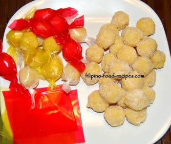 Yema Balls - How to Make Pastillas