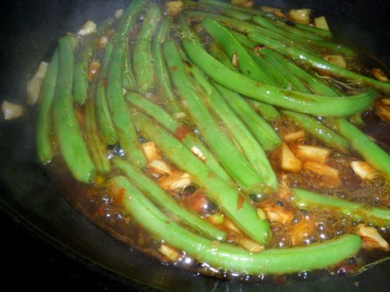 Make and share this Szechuan-Style Green Beans recipe from Food.com.