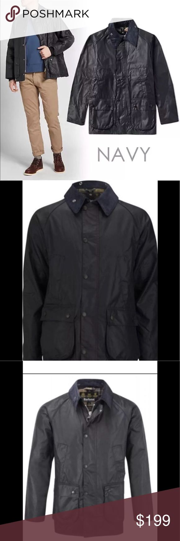 Barbour men's bedale wax jacket XL Xl could be unisex   Wax jacket by Barbour  Good condition  Could use a new waxing  Small rip in side  Worn very little  Classic jacket  Waterproof  Plaid inside  Corduroy collar  Roomy Barbour Jackets & Coats Military & Field