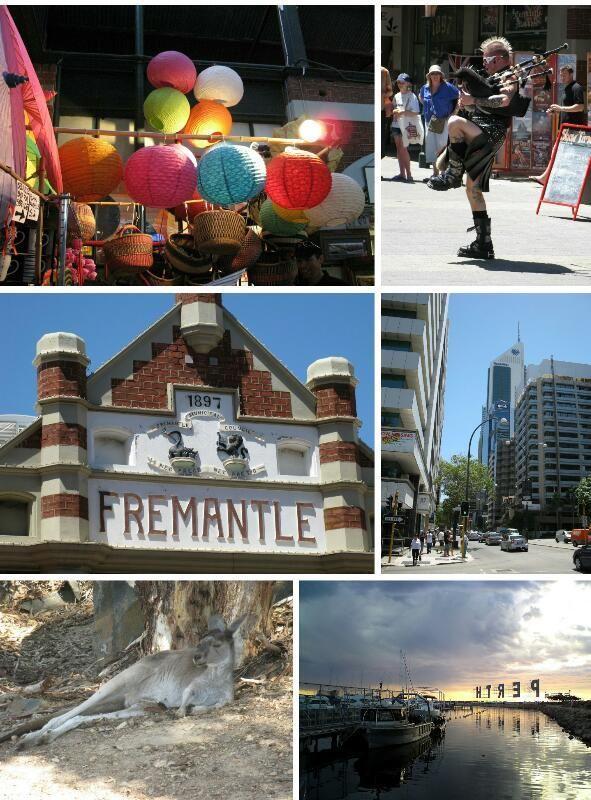 Travel album Perth