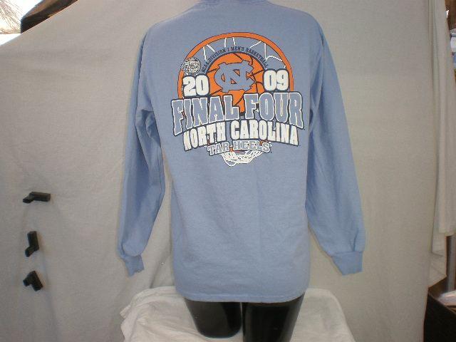 Final Four 2009 NCAA North Carolina Men's Basketball Long Sleeve Champion T-shirt Size Medium - http://raise.bid/store/collectibles/carolina-basketball-champion/