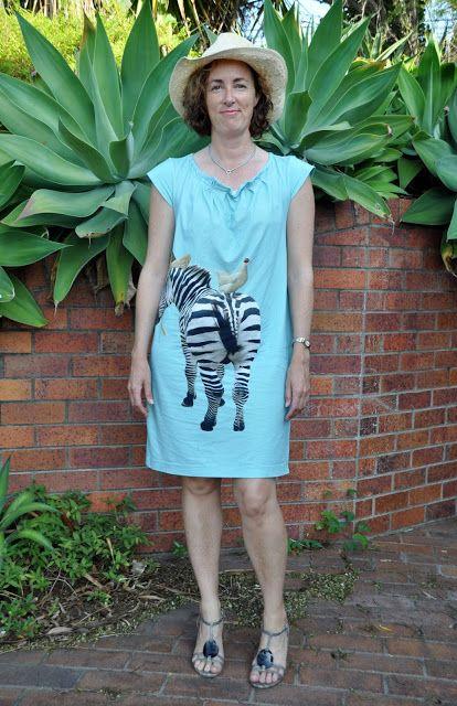 Bloom's Endless Summer: Zebra print dress