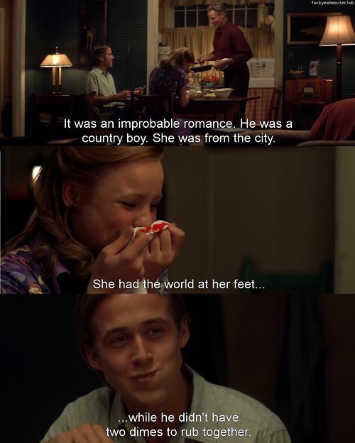 Movies Lines Quotes: Best 25+ The Notebook Ideas On Pinterest