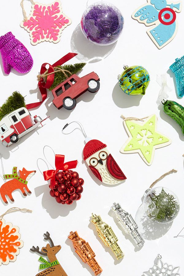 When it's time to trim the tree, you can go classical, or you can go fantastical. We're crushing on Christmas tree ornaments that bring out your flair for fun. From owls to foxes to mittens and more, it's a hodgepodge of hangable happiness.
