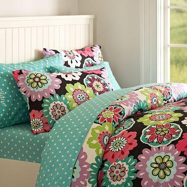 I love the Camilla Floral Duvet Cover & Pillowcases on pbteen.com