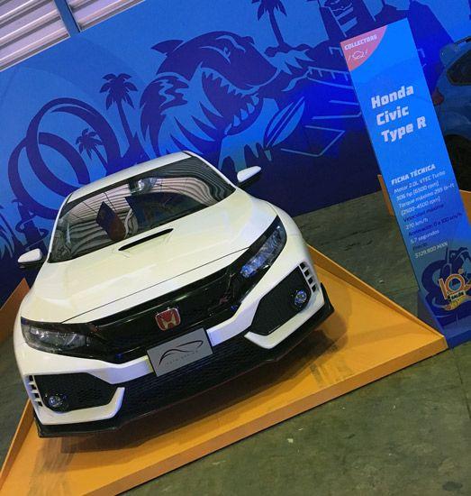 Honda Civic Type R presente en el Salón Hot Wheels 2017 | Tuningmex.com