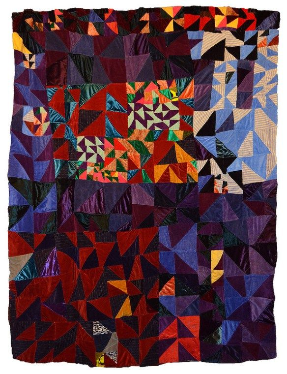 Talking Quilts with Eli Leon ~ Rosie Lee Tompkins | daintytime ~ Sherri Lynn Wood