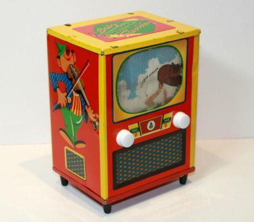 tin toy television
