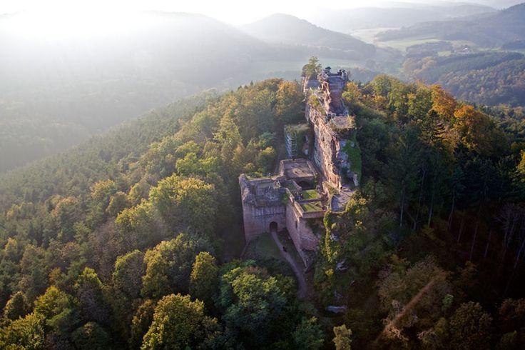 dahner felsenland | Dahner - Felsenland: Burgruine Drachenfels