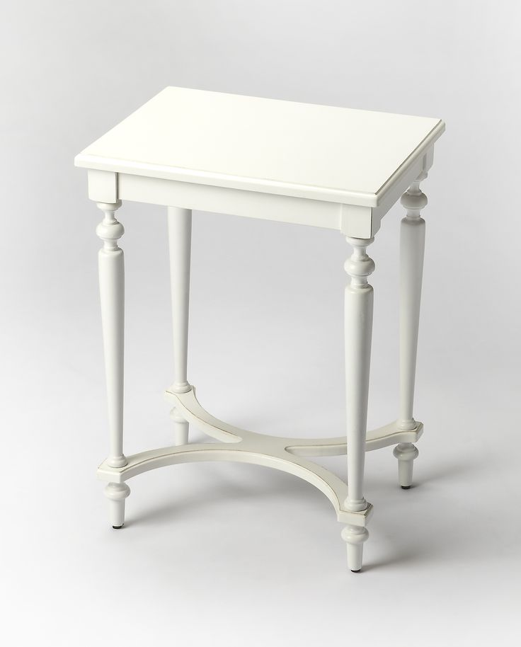 Tyler Cottage White Accent Table by Butler Specialty Company 2116222