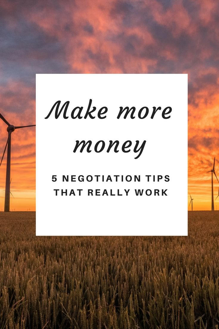 5 salary negotiation tricks to raise the
