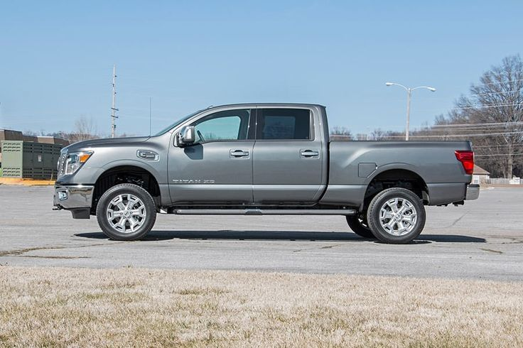 ROU- 868 Rough Country 2IN Leveling Lift Kit Fits 2016 Nissan Titan XD