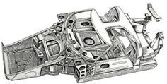 Image result for race car replica gt40 chassis