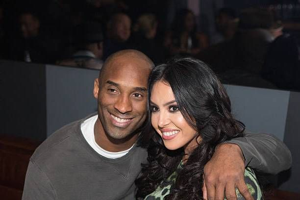 Kobe Bryant with wife Vanessa Bryant