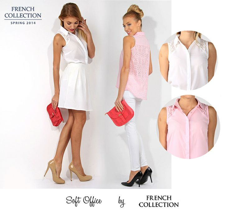 #softoffice #pink #pastel #white #heels #szpilki #kobieta #rueparis #french #butik #style