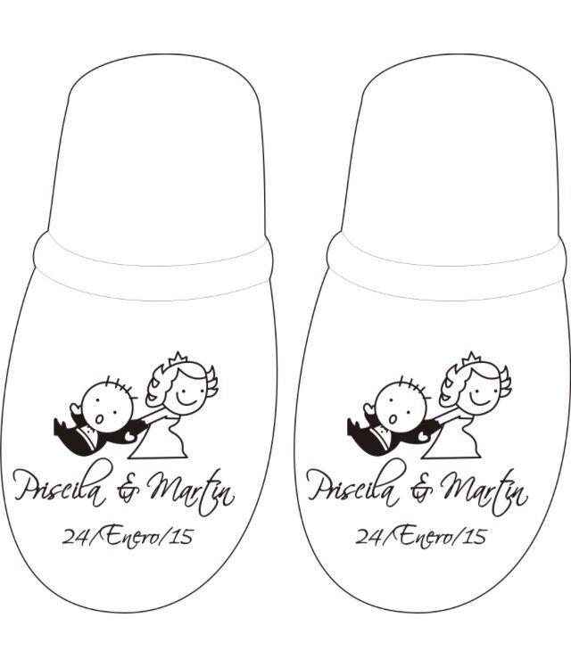 Pantuflas para boda  Realizamos envíos a toda la república cotiza en www.andalisandaliasypantuflas.com