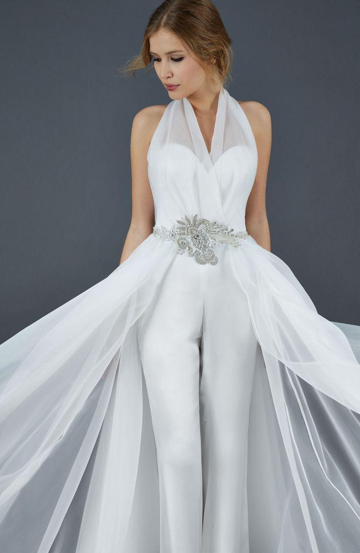 Ande - Abito da Sposa Scivolato - Vestito da Sposa in Organza e Seta   Atelier Eme