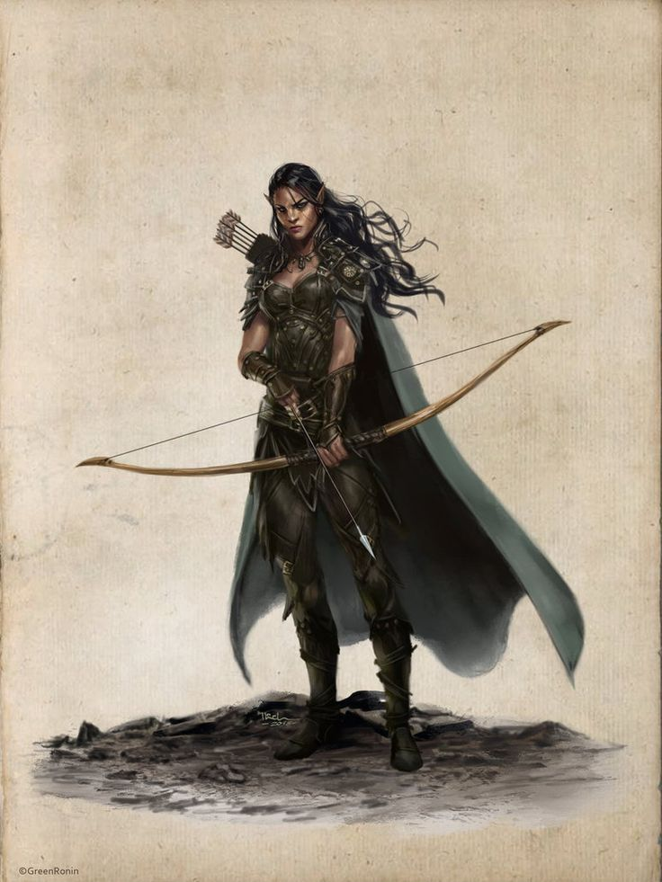 Najah, Elf Rogue-Ilich Henriquez by Ilacha on DeviantArt