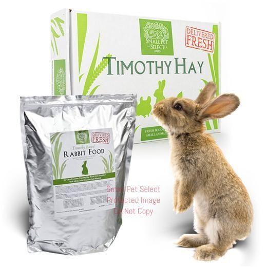 3rd Cut Timothy + Rabbit Pellets
