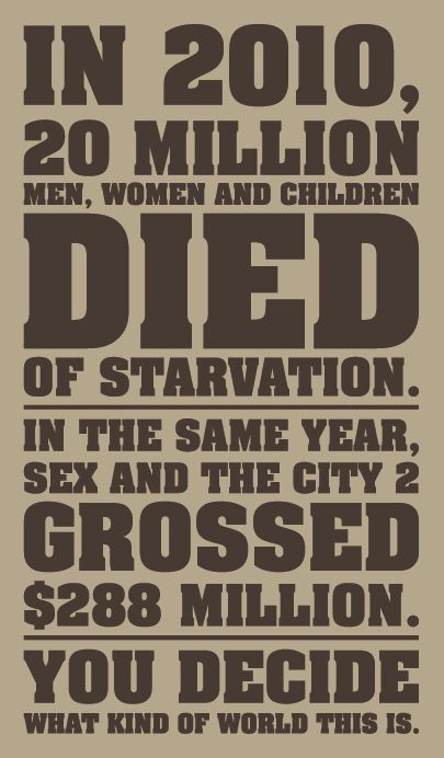 Sad - http://www.wfp.org/hunger/stats